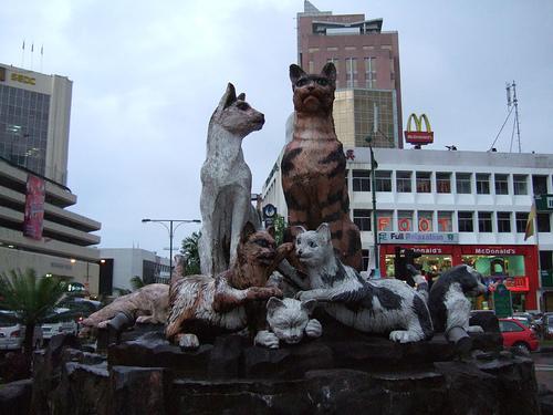 「クチン・フェスティバル2010」(猫祭り)/2010年8月1日~8月31日