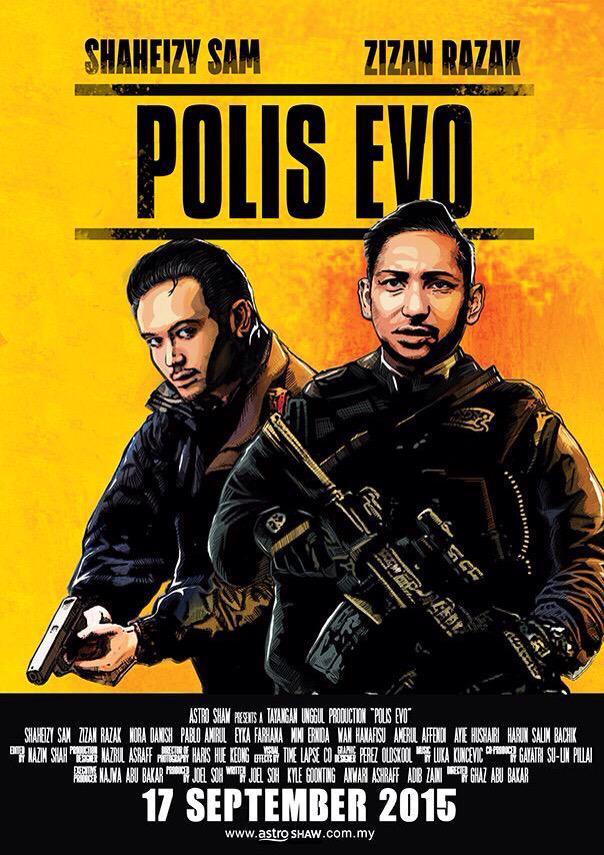 『ポリス・エボ』オリジナルポスター1